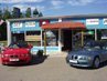 James Bond 007 MUSEUM in Sweden, Nybro with BMW Z3 from GOLDENEYE an BMW with plate 007 JB