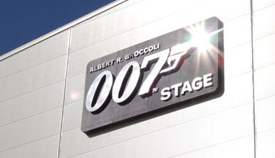 The new 007 Stage at Pinewood Studios