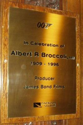 Albert R Broccoli Celebration Producer James Bond films