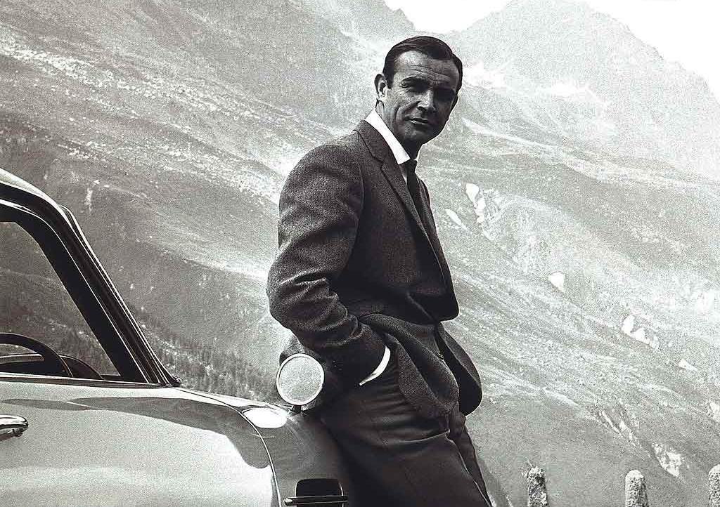 aston martin db5 connery sean bond goldfinger james 007 movies 1964 films famous ever film movie meme each