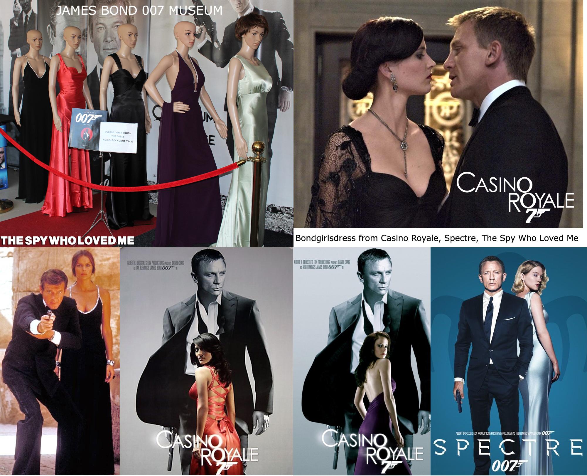 Bondgirl Dresses From James Bond Movie