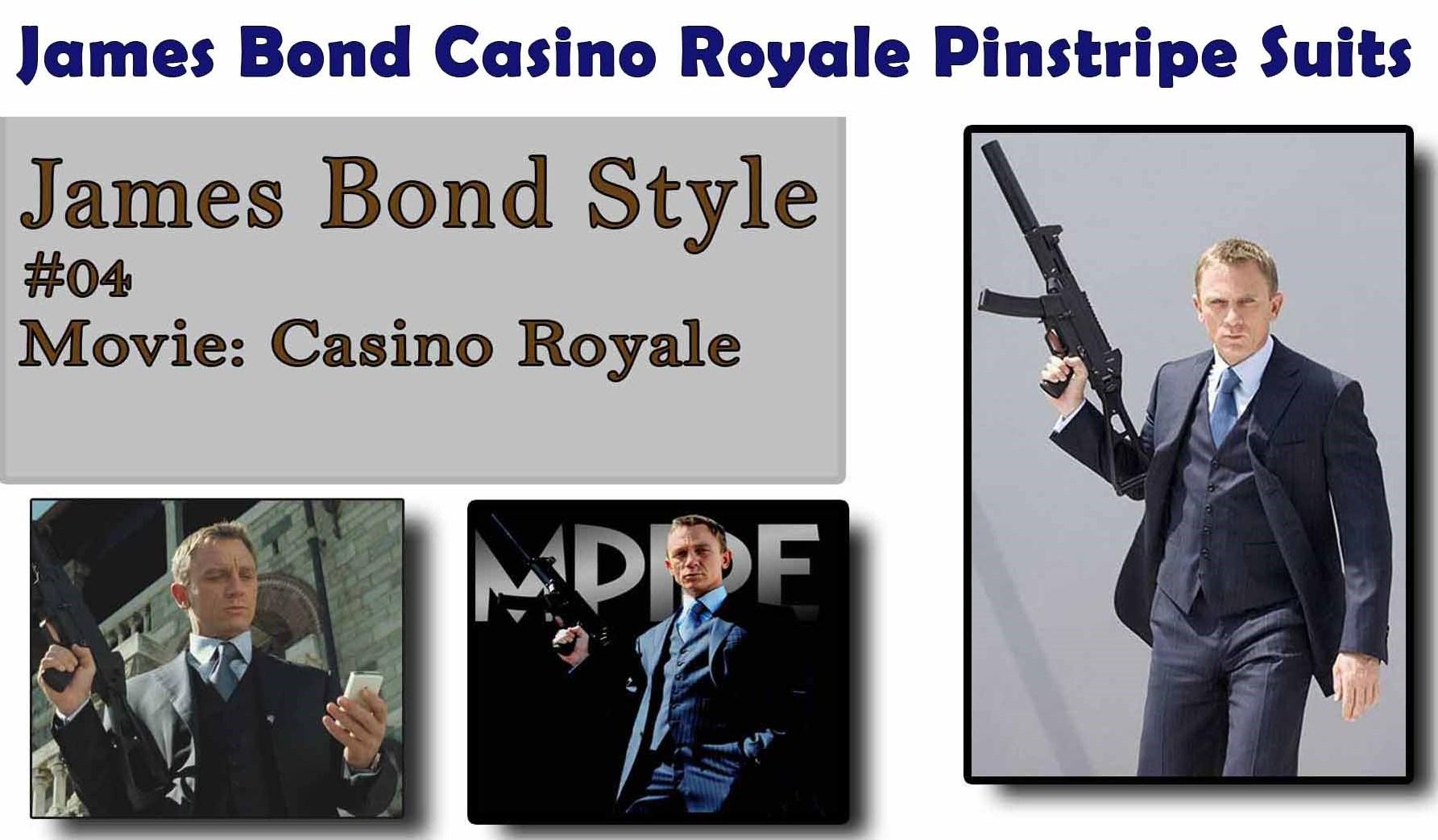 clothes worn james bond casino royale