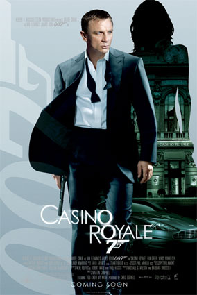 James bond 21 casino royale sands casino in bethlahem pa