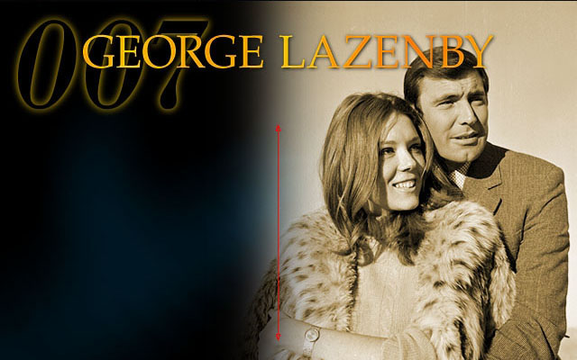 James Bond: George Lazenby Diana Rigg Tracy Di Vicenzo  On Her Majesty`s Secret Service