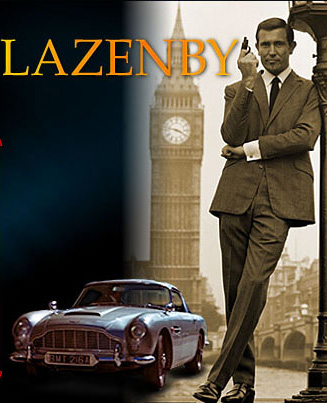 "George Lazenby"" On Her Majesty's Secret Service 1969"""