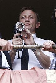 The first shoot of Bond 22 Daniel Craig as James Bond
