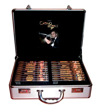 James Bond 007 - Attache Case (40-disc Box) Limied Edition