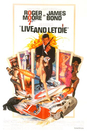 Live and Let Die film poster