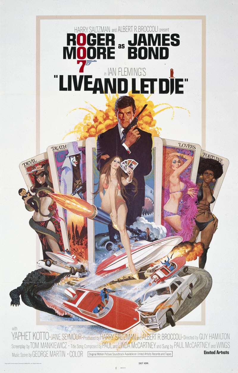Live And Let Die Mission James Bond Is On A Manhunt From Harlem To The Caribbean Find Defeat Evil Dr Kananga Before He Can Flood World