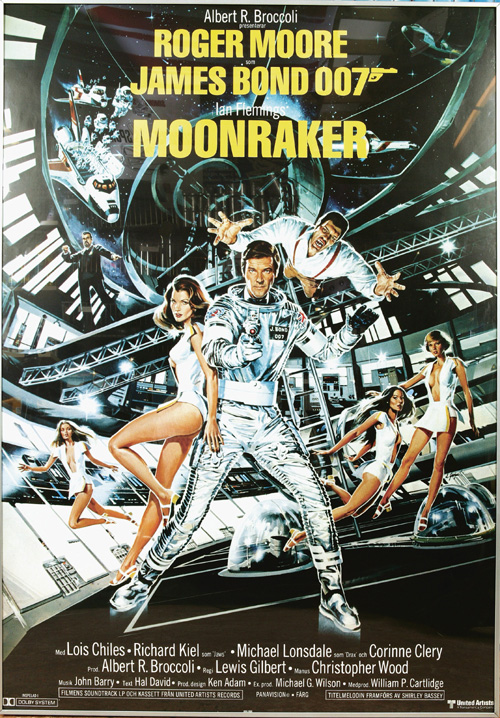 Image result for roger moore james bond moonraker