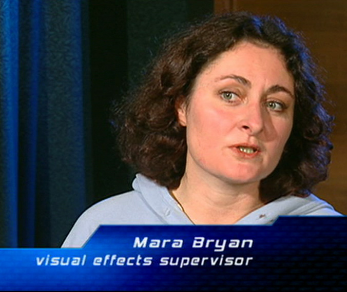 Mara Bryan visual effects supervisor