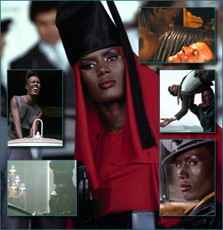 Grace Jones as Mayday