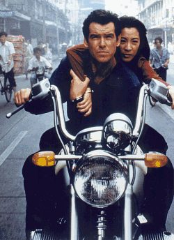 Tomorrow Never Dies James Bond BMW R1200 C