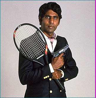 Vijay, James Bond's contact at Station I, played by tennis star Vijay Amritraj in Octopussy