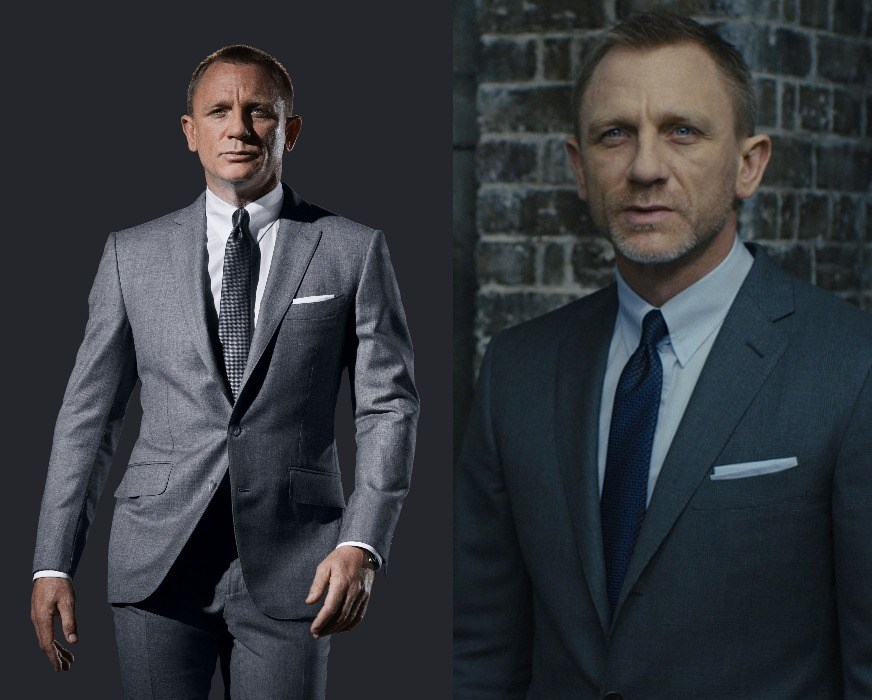db3f5bd9251d1d The 007 tux designer chose the perfect color combination for the tie that  match the overall suit. Nr 2 Daniel Craig ...