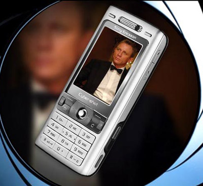 Eagle-eyed viewers of the next James Bond film 'Casino Royale' will spot everyone's favourite male spy using one of these limited edition Cyber-Shot camera phones. The special edition 3G phone comes in silver with a 3.2 Megapixel AutoFocus camera, Xenon flash for lowlight and BestPic for simultaneous shots of a moving target. Moblogging fans also get Picture Blogging and PictBridge for easy camera-to-printer pics. And as it's all about Mr Bond, it has plenty of themed content like Bond wallpapers, music ringtones and video trailer. It'll only be out for three months so if you want it, get it fast