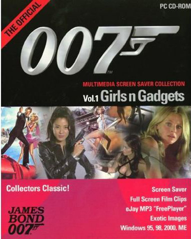 The Official 007 Multimedia Screen Saver Collection Vol 1 Girls n Gadget
