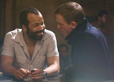 Jeffrey Wright - Felix Leiter James Bond Daniel Craig
