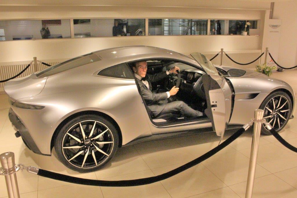 Spectre Aston Martin DB From The Movie Driven By James Bond - Aston martin db 10