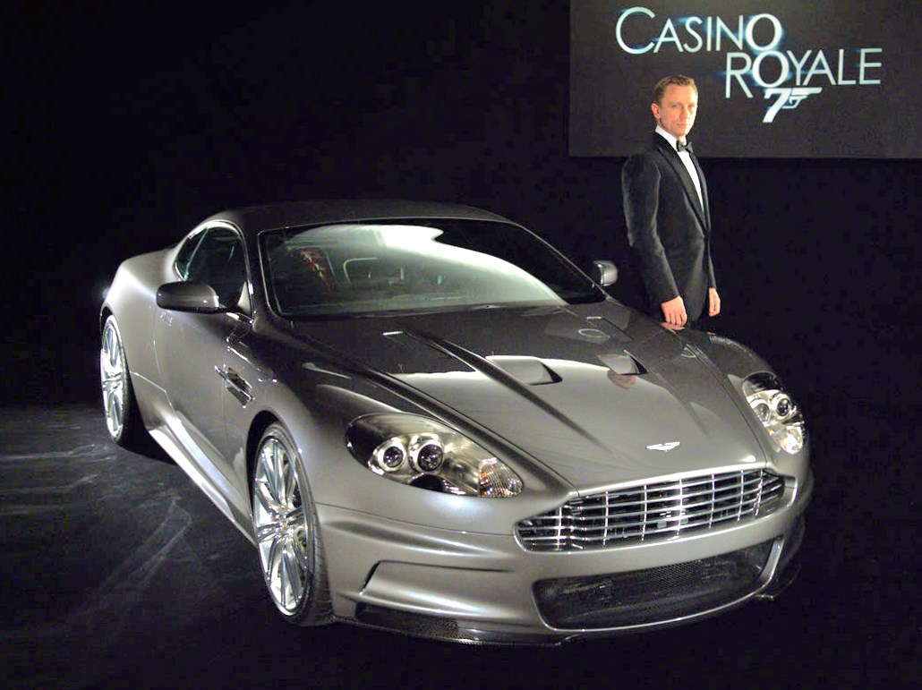 aston martin in 12 james bond movies