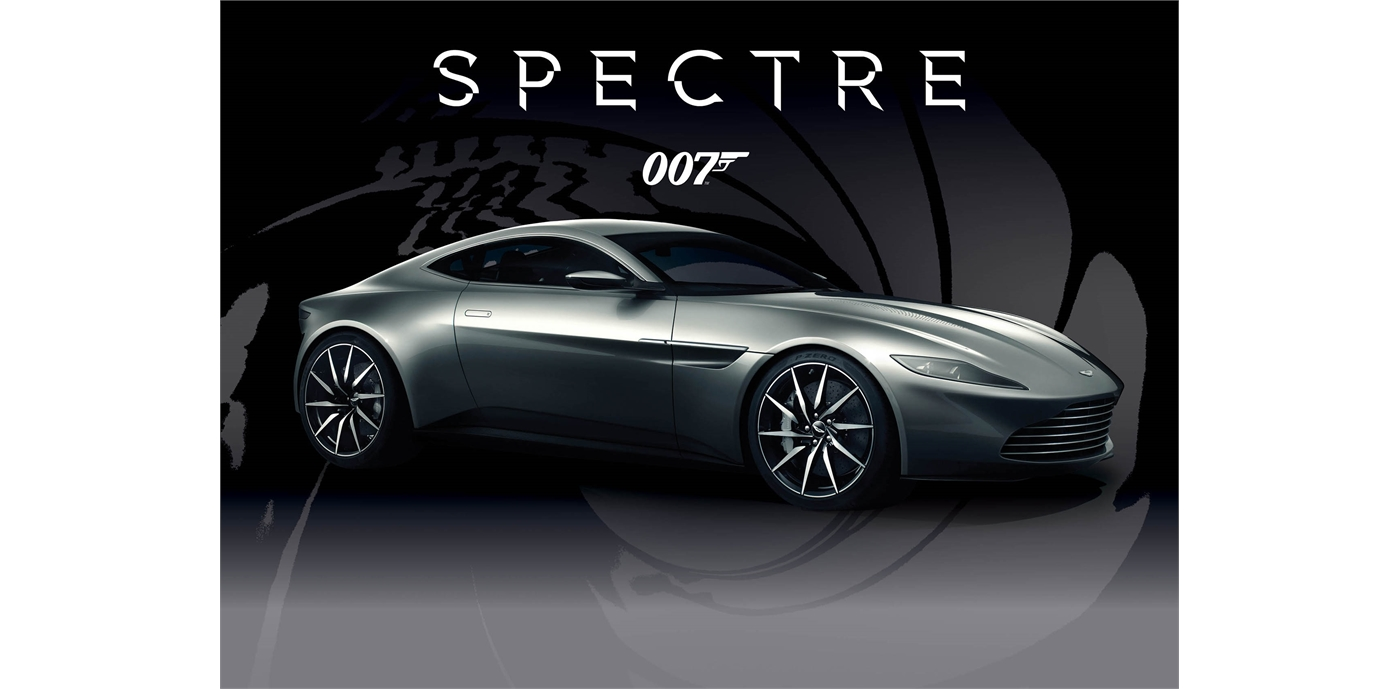 Spectre Aston Martin Db 10 From The Movie Driven By James