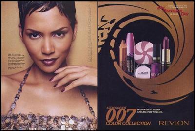 Revlon In James Bond Films And Girls