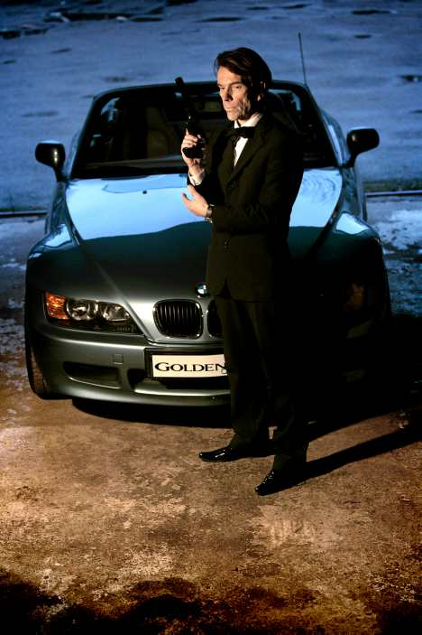 Bmw Z3 James Bond Movie Goldeneye 1995 Pierce Brosnan