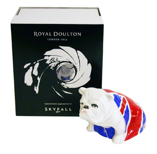 Royal Doulton Bulldog Jack Collectors Edition James Bond 007 Skyfall 2012