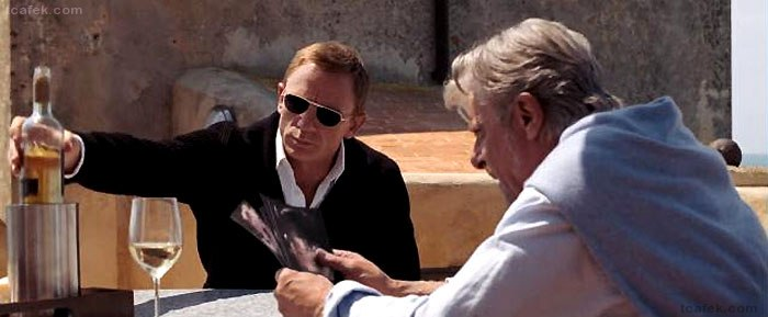 ec96685298d Tom Ford was very secretive about the items that were used in Quantum of  Solace