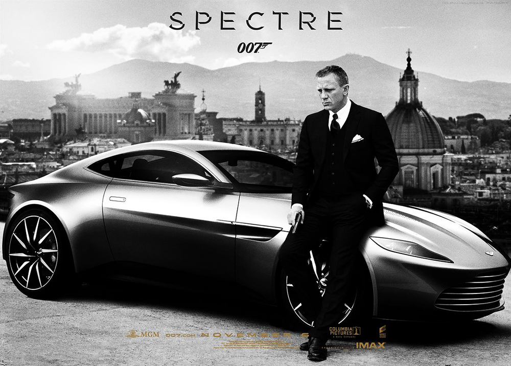 Amazing James Bond Gunnar Schäfer With The Aston Martin DB10 Spectre Same As Daniel  Craig Was Drivning