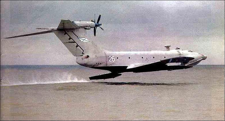 Lun Cl Md 160 Ekranoplan