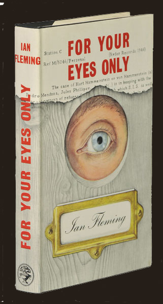 First Edition 1960 Ian Fleming James Bond For Your Eyes Only