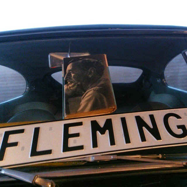 Fleming Licence Platein James Bond 007 Museum Nybro Sweden