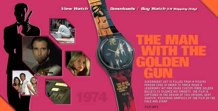 Swatch James Bond 007 Collection