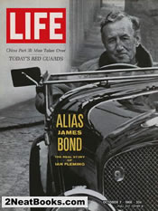 Ian Fleming in Bentley convertible. Alias James Bond - the real story of Ian Fleming