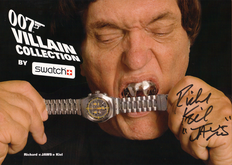 Richard Kiel (�Jaws� in �The Spy who Loved Me�),