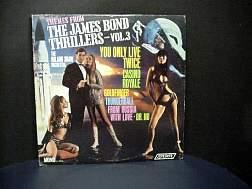 James Bond soundtrack for all 007 films