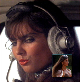 Naomi (played by the uber-sexy British actress Caroline Munro),