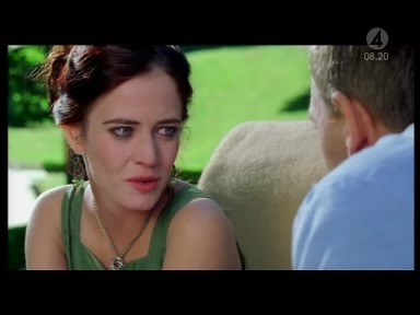 The exotic love knot necklace worn by Vesper Lynd  Eva Green in Casino Royale