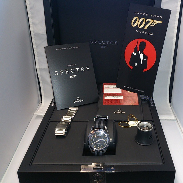 Omega Seamaster 007 Spectre