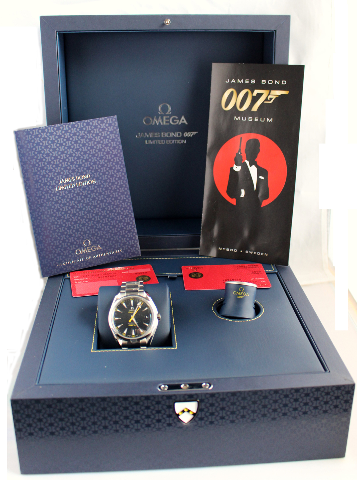 Omega Watches The Seamaster 300 Quot Spectre Quot Limited Edition