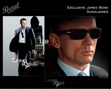Persol Caino Royale Exclusive  James Bond Sunglasses 2720