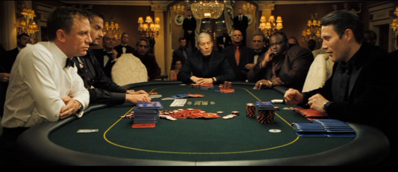 Casino royale bahamas poker scene