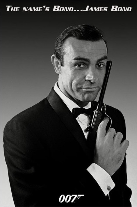 <b>JAMES BOND</b> 007 - Sean Connery - sean_connery_james-bond_poster