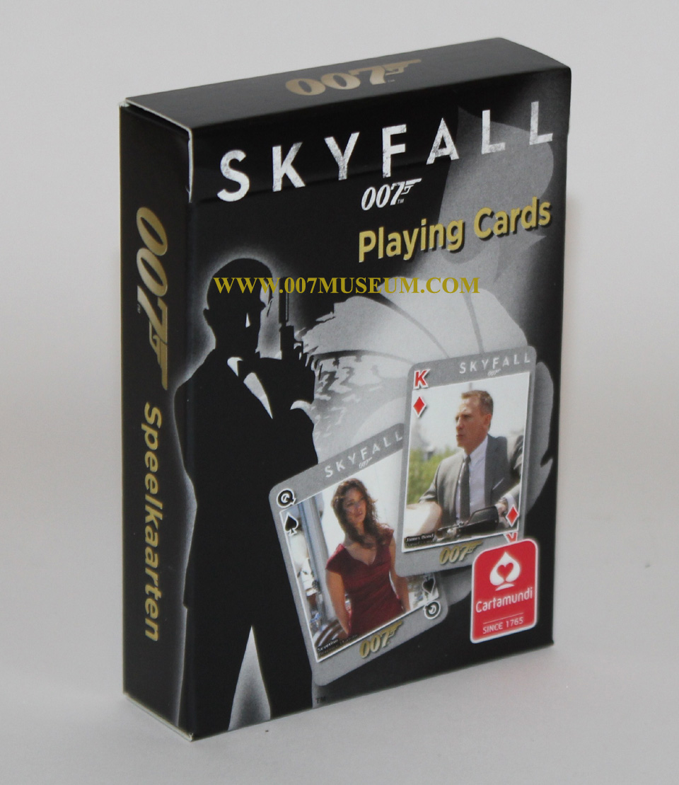 skyfall cartamundi playing cards