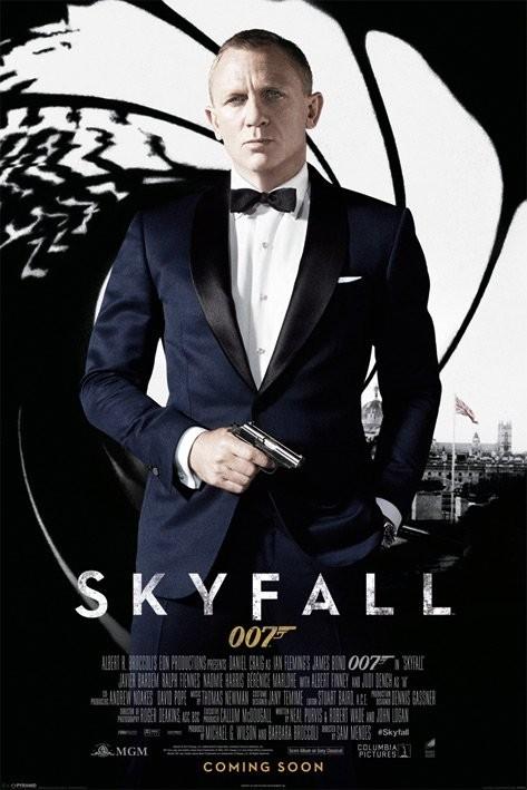 "2015 Film 007 James Bond Daniel Craig Movie 24/""x36/"" Poster 023 Spectre"