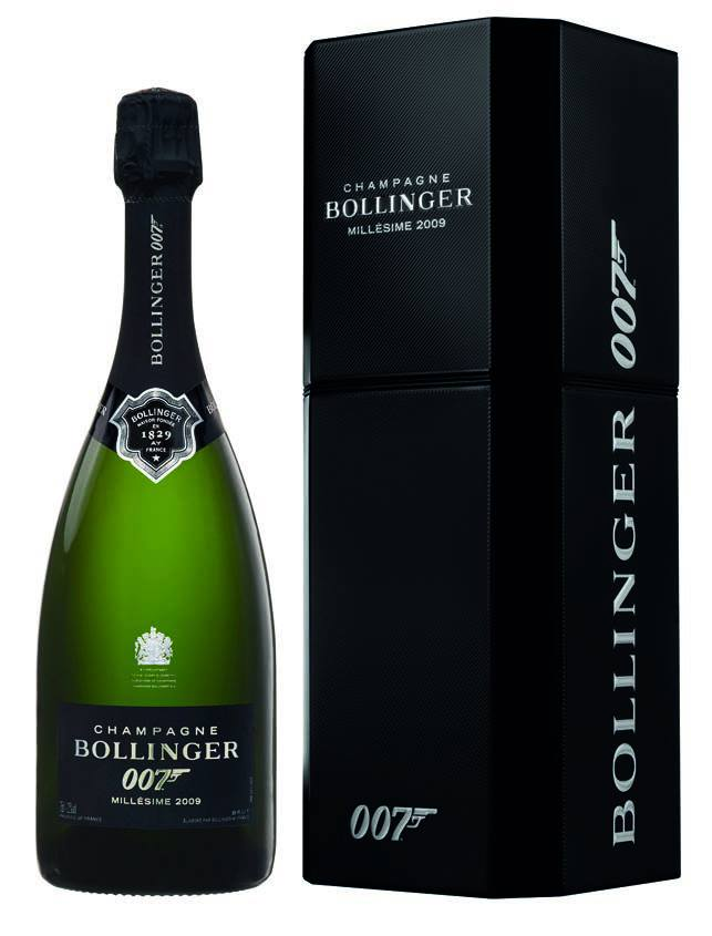 Champagne Bollinger Spectre James Bond
