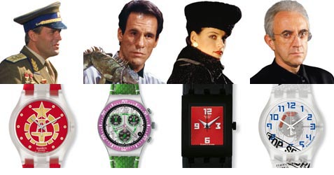 Swatch � 007 Villain Collection by Swatch