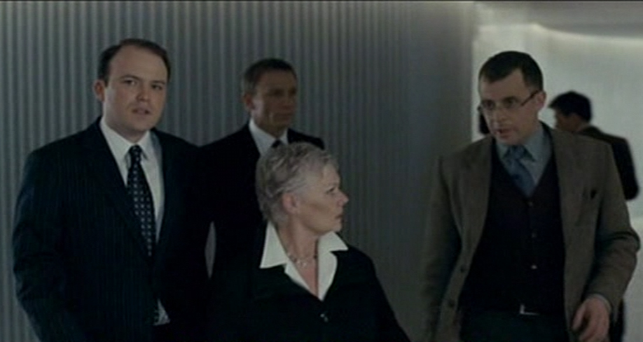 Rory Kinnear Bill Tanner in Agent in SKYFALL and Quantum of Solace
