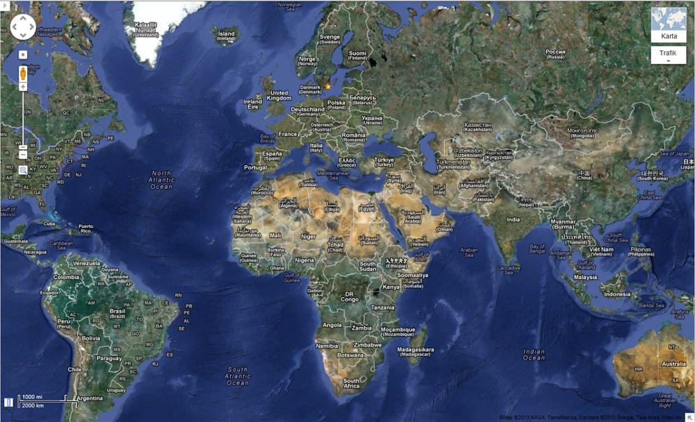 Helt nytt att Google Earth har tagit med James Bond 007 museum p